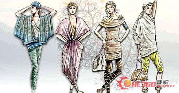 20112012秋冬中国毛针织服装流行趋势